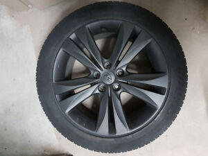 "Genesis Coupe OEM rim and tire (18"")"