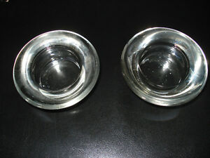 Clear Tealight Candle Holders Kitchener / Waterloo Kitchener Area image 1