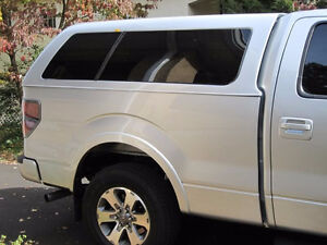 White Canopy for Ford F-150 2009-2014 Box 6.5'