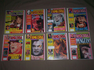 LOT OF 50 FANGORIA HORROR MAGAZINE ISSUES 1980's JASON