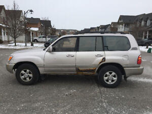 1998 Toyota Land Cruiser SUV, Crossover