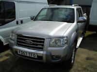 2007/57 reg Ford Ranger 3.0TDCi ( 156PS ) 4x4 Wildtrak Double Cab