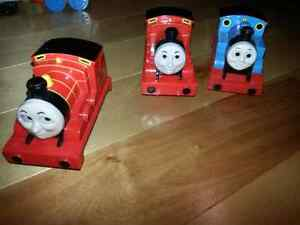 Thomas and james trains