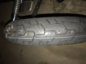 Motorcycle Tire - NEW Dunlop 404, Size 130/90/16