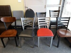 Chair, table base, table top, and stools for restaurant bar etc