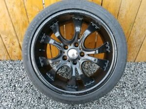 kmc 18 inch rims 125 cash fit the Pontiac granprix