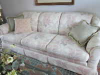 Instant Living Room- What a Deal! Pristine Couch, Chair & Tables