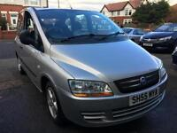 2005 FIAT MULTIPLA 1.9 JTD Dynamic 5dr From GBP2450+Retail package.