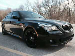 2008 BMW 5 SERIES 535XI M PACKAGE!! NEW ENGINE!! FULLY LOADED!!