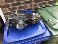 Pit bike 125cc engine