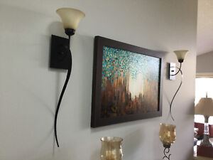 12 Oil rubbed bronze wall sconces