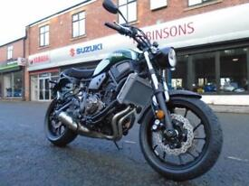 Brand new Yamaha XSR700 - Forest Green