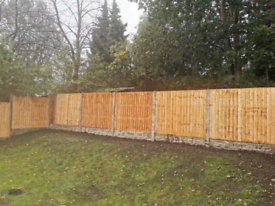 Fencing £90 a bay *free removal of existing fence*