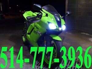 KAWASAKI MOTORCYCLE KIT HID XENON INSTALLATION LED HEADLIGHTS
