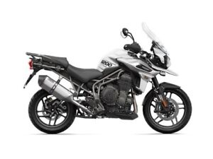 2019 Triumph Tiger 1200 XRT Crystal White
