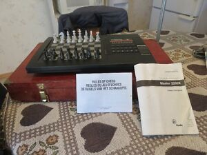Master Chess 2200X Computer Game with Storage Box