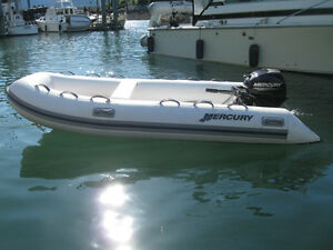 Mercury 350 Ocean Runner with brand new 15 HP FourStroke