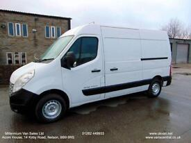 2011 RENAULT MASTER MWB, ONE FLEET OWNER-ALPHABET, FULL SERVICE HISTORY,