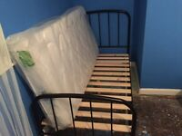 New single bed with mattress