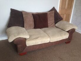 2 and 3 seater scatter back sofas