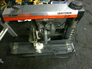 Sears Craftsman 10 inch Radial Arm Saw