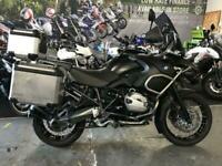 2013 13 BMW R1200 GS ADVENTURE TU TRIPLE BLACKA *FULLY LOADED ADV MACHINE.*