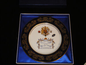 Plate Commemorate the Marriage of Lady Di to the Prince of Wales