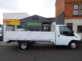 Ford Transit 14ft alloy dropside lwb with 500kg light weight tail lift one owner (48)