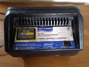 SHIP'N'SHORE 10AMP DEEP CYCLE BATTERY CHARGER