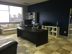 Executive office space 350+sqft $775/m +hst inc utilities & int