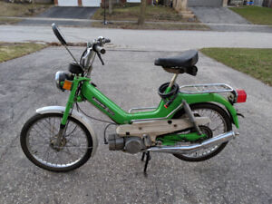 Bombardier-Puch 50cc Moped