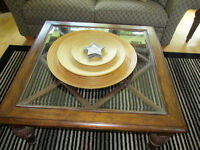 High End Wood Coffee Table in Excellent condition