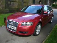 2008 Audi A3 1.6 SE 5dr 5 door Hatchback
