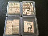 Stampin' Up! wooden stamp sets