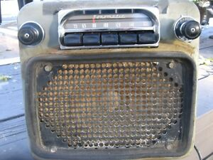 Old Buick Radio