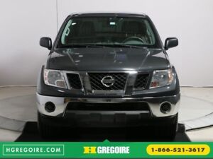 2012 Nissan Frontier SV 4X4 CREW CAB A/C GR ELECT MAGS