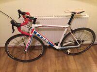 Cube peloton road bike. Upgraded