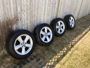 All season tires with 18' bmw mags