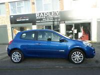 2011 Renault Clio 1.2 16v 75bhp Dynamique Tom Tom 3DR 11 REG Petrol Blue