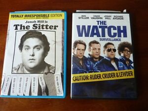 The Watch and The Sitter DVDs