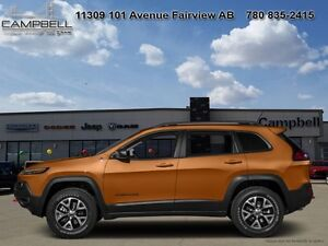 2016 Jeep Cherokee Trailhawk   -  4x4 -  Skid Plates - Low Milea