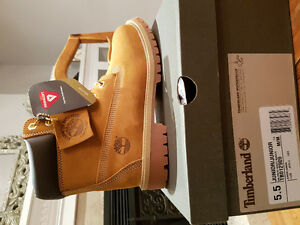 Timberland Boots, brand new in box, size 5.5 boys.