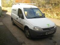 Vauxhall Combo 1.7Di 1700 Recent Engine Replacement!