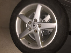 205/55R16 Tires with RSX Stock Rims