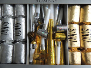 New Year's Eve Millennium Party Crackers - Bombay Company