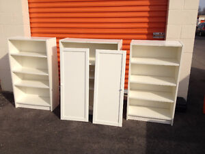 White ikea billy bookcases - MOVING SALE!