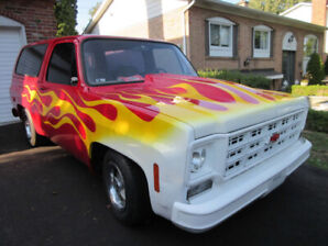 Classic 1977 Chevy Blazer Hot Rod