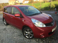 2011 Nissan Note 1.5dCi ( 86ps ) E5 2011MY N-TEC