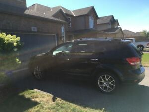 2012 Dodge Journey RT AWD, Black on Black Leather