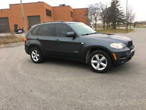 2012 BMW X5 SUV Grey with Black inter. Fully Certified